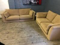MARKS + SPENCERS FABRIC SOFA SET IN NICE CONDITION