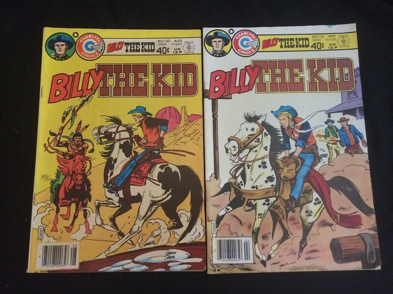 BILLY THE KID #130,135