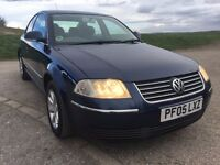 2005 IMMACULATE CONDITION THROUGHOUT VW PASSAT HIGHLINE,1.9TDI 130PS,HPI CLEAR,FULL MOT UPON SALE