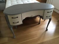 Painted vintage dressing table
