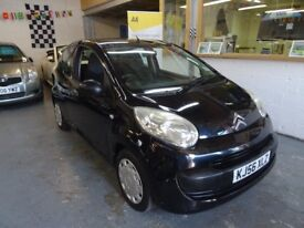 2006 CITROEN C1 1.0 i Airplay 3DOOR, ONLY 52K MILES BLACK ,FULL SERVICE,DRIVES VERY NICE, CHEAP CAR.