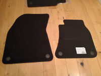 New Sakura Deluxe car mats (set of 4) for Audi A8, fully tailored.