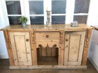 Antique Sideboard Free Delivery Ldn chest of drawers reclaimed wood