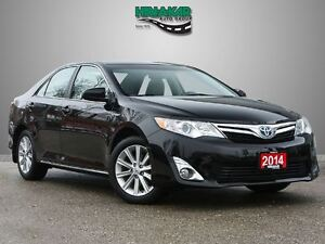 2014 Toyota Camry Hybrid XLE  w/ Blindspot and Leather