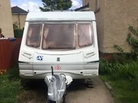 Abbey Freestyle 520se. 2004. 4 Berth end bathroom with shower. Alko stabiliser.