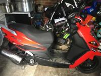 Daelim s1 125 cc moped not pitbike / quad