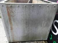 Riveted water tank