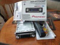 PIONEER MULTI CD PLAYER/STEREO, NEW/BOXED, REAL BARGAIN £25, CAN DELIVER