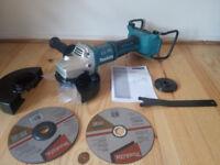 new makita LXT dga700z brushless grinder, 2x18v. dga700 bare tool