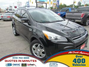 2013 Ford Escape TITANIUM | 4WD | NAV | LEATHER | BACKUP CAM | R