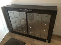 Shop Retail Display Unit, One-Off, Vintage-Industrial, Maison Margiela Priced for Quick Sale