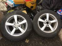 """Dezent 15"""" Alloys for Astra or Corsa 4 Stud fitting with 185/65r15 tyres"""