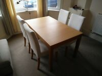Dining table (expandable)