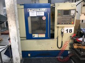 Matchmaker machining centre milling drilling