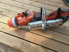Stihl saw TS350 and diamond blade