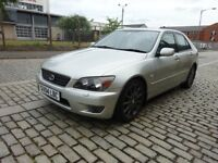 2004 LEXUS IS 200 AUTOMATIC PETROL,2 OWNER,FULL YEAR MOT,DRIVE SPOT ON,FULLY LEATHER HEATED SEATS