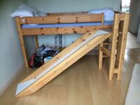 Children's slide bed