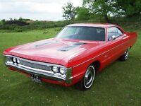 Plymouth Fury 2 , 1970, 2 door pillarless coupe, new advisory free mot, free tax