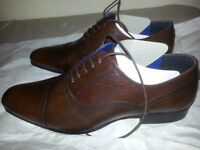 Brand New Red Tape Almond Brown Formal Shoes