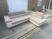 corner sofa with storage Delivery available