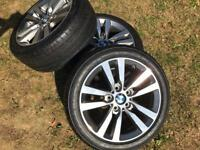 NEW BMW 1 Series Sport Alloy Wheels with New Tyres
