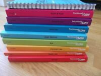 Set of GDL law books from University of Law, barely used