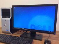 GAMING PC Dell intel Core i7 - 8GB Ram- 2TB HDD - GeForce GTX550 ti Windows 10 Desktop
