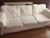 Sofa white color