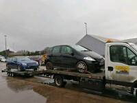 2 TWO CARS RECOVERY BRADFORD LEEDS HALIFAX
