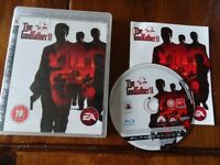 PLAYSTATION 3 GAME THE GODFATHER 11 EXCELLENT CONDITION WITH INSTRUCTION MANUAL PS3