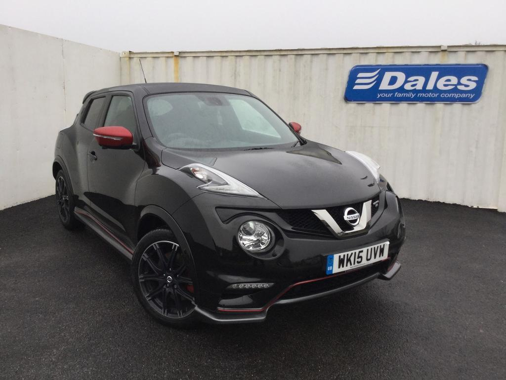 Nissan Juke 1 6 Dig T Nismo Rs 5dr 4wd Xtronic Black 2015 In