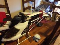 Shuttle sceadu rc nitro helicopter