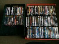 Job lot selection of DVDs