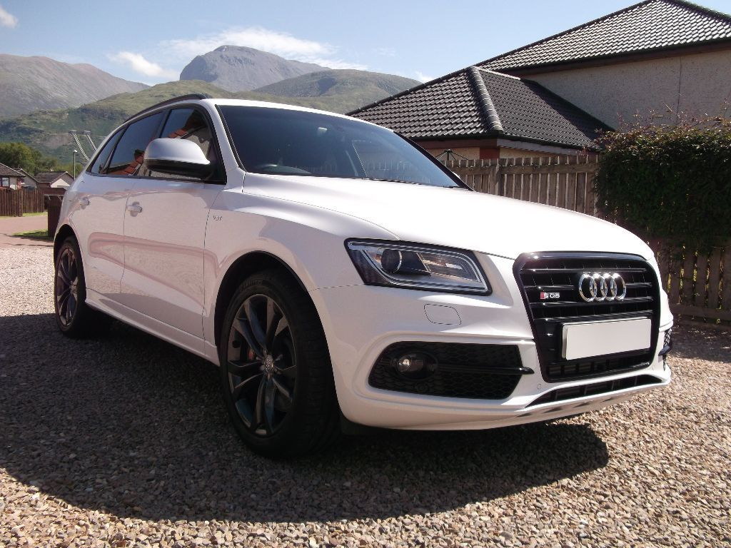 audi sq5 3 0 tdi quattro 2014 ibis white black styling pack in fort william highland gumtree. Black Bedroom Furniture Sets. Home Design Ideas