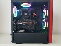 Gaming PC RGB Ryzen 5 3600 16gb-ddr4 GTX970 4GB ssd500gb hdd1tb vr desktop computer workstation serv
