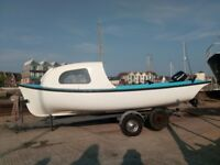 Pearson brothers (SUSSEX UK) 1967 Beach Boat. Cleaned after use and well looked after