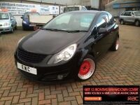2008 58 VAUXHALL CORSA 1.2i 16v SXi**LOW MILES-1 YEARS MOT-3 MONTH WARRANTY**sv