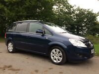 Vauxahll Zafira 1.7 cdti ecoflex design 12 months MOT brand new brake pads and disks