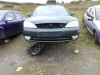 2.0 TDCI Diesel Ford Mondeo 2005 for breaking Green