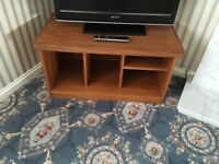 Wood unit for television
