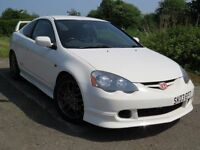 !!ONLY 62K MILES!! 2003 HONDA INTEGRA DC-5 TYPE R / 12 MONTHS MOT / FULL SERVICE HISTORY /IMMACULATE