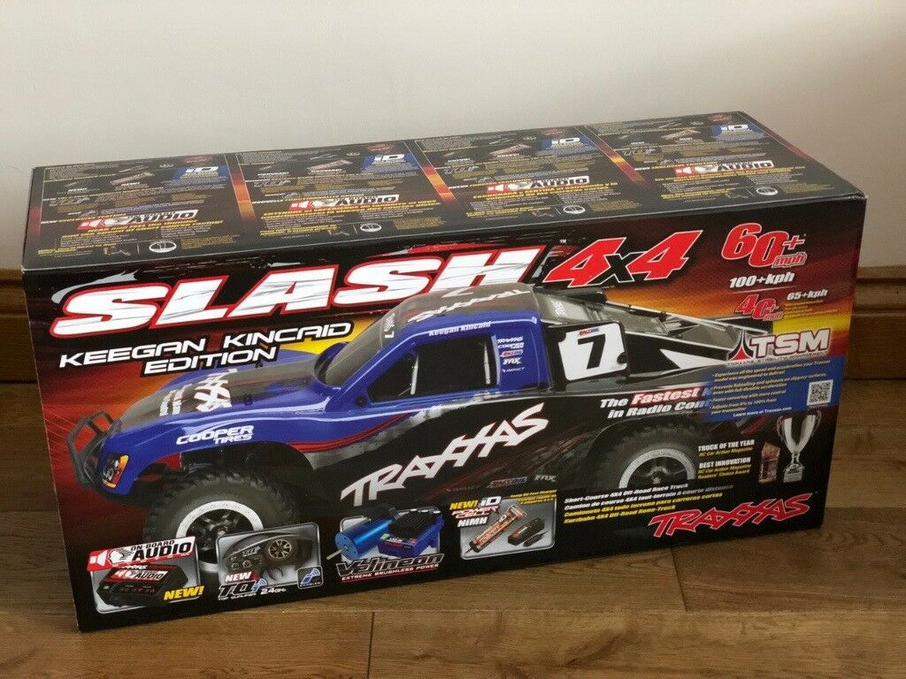 Traxxas Slash 4X4 LCG - FULLY UPGRADED & Race Tuned!! Worth over £1000!  Boxed and NEW! | in Barking, London | Gumtree