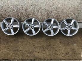"18"" alloys, 5x112, Skoda, VW, Audi, Seat"