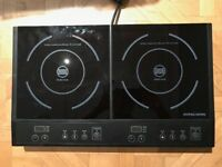 Andrew James Portable Table Top Induction Double Hob
