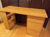 free desk with 3 drawers
