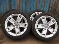 Audi A3 Alloys with Tyres set of 4