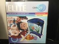 Plastic Goldfish Tank 21Litreu