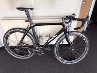 Moda Stretto Team Road Bike - Rotor Power, Campagnolo Chorus