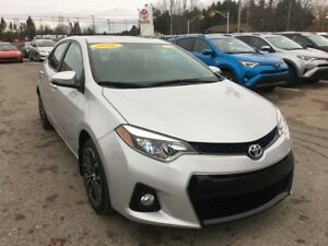 2016 Toyota Corolla S Technology! ONLY $129 BIWEEKLY WITH $0 DO
