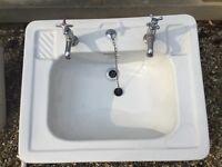 Large substantial vintage sink.